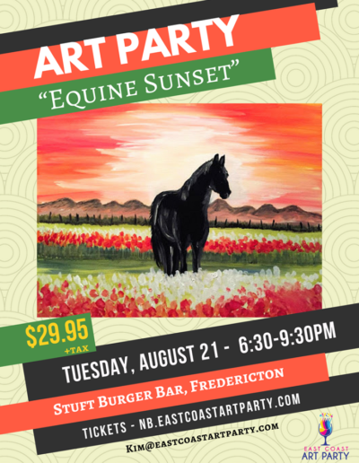 Aug 21_18 - Equine Sunset