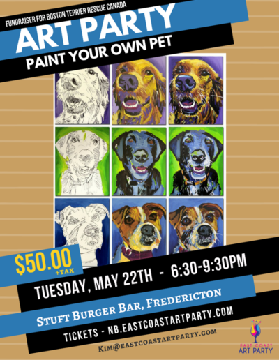 May 22 - Paint your own pet