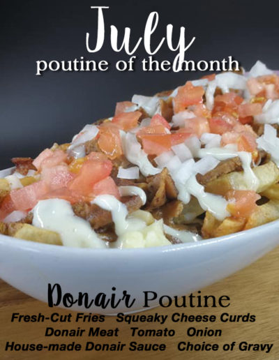 July poutine of the month